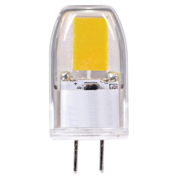 Satco 3w G6.35 LED 12v 3000K Warm White light bulb
