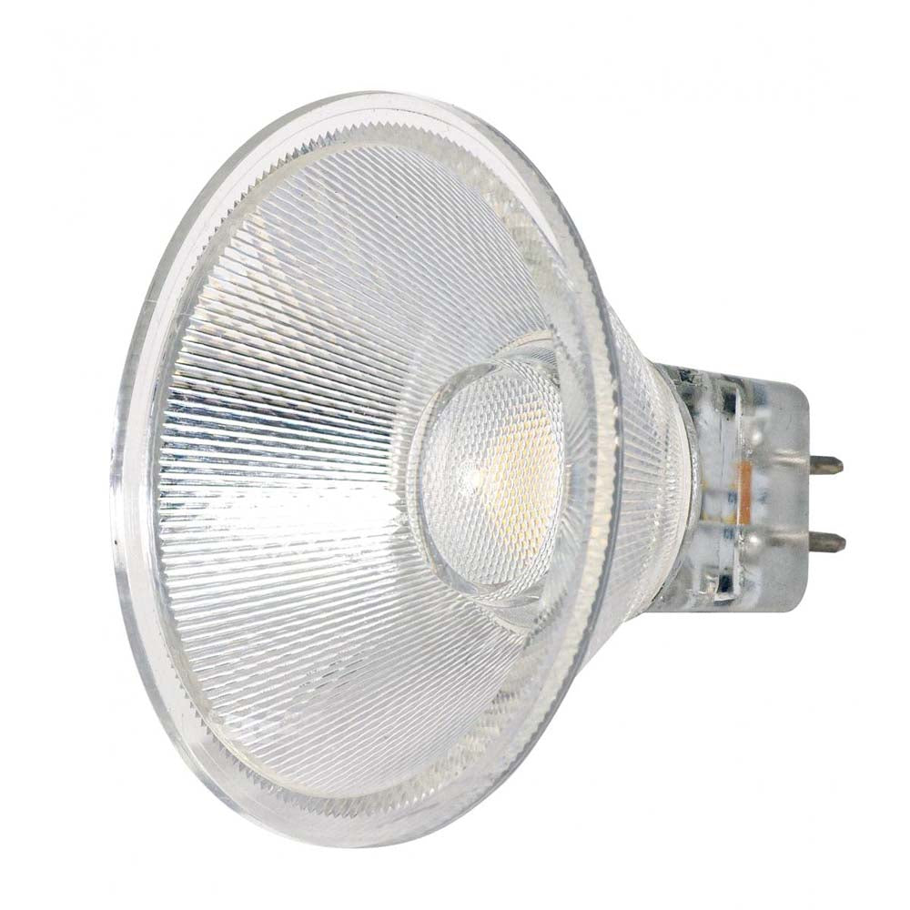 Satco 3w LED MR16 Expanded Line 3000K 40 Degrees Beam GU5.3 Base 12v