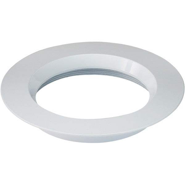 "6"" Round Trims, Option for 6"" base unit - White finish"