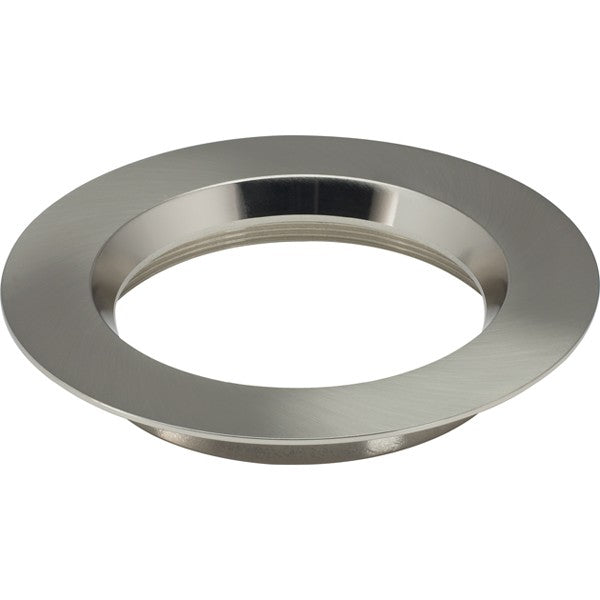 "6"" Round Trims, Option for 6"" base unit - Brushed Nickel finish"