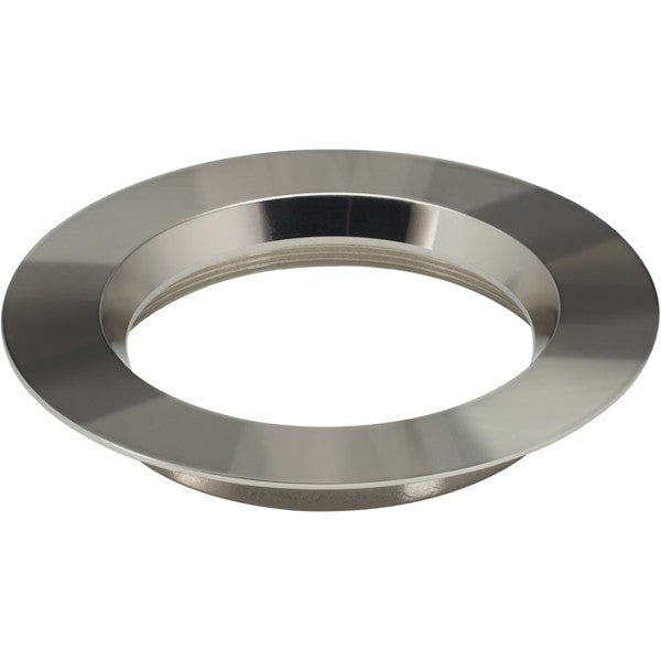 "6"" Round Trims, Option for 6"" base unit - Polished Nickel finish"