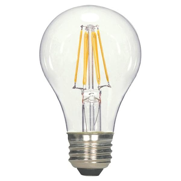 Satco Antique LED 4.5W A19 Dimmable 2700K S9561 E26 Vintage Bulb - 40w equiv.