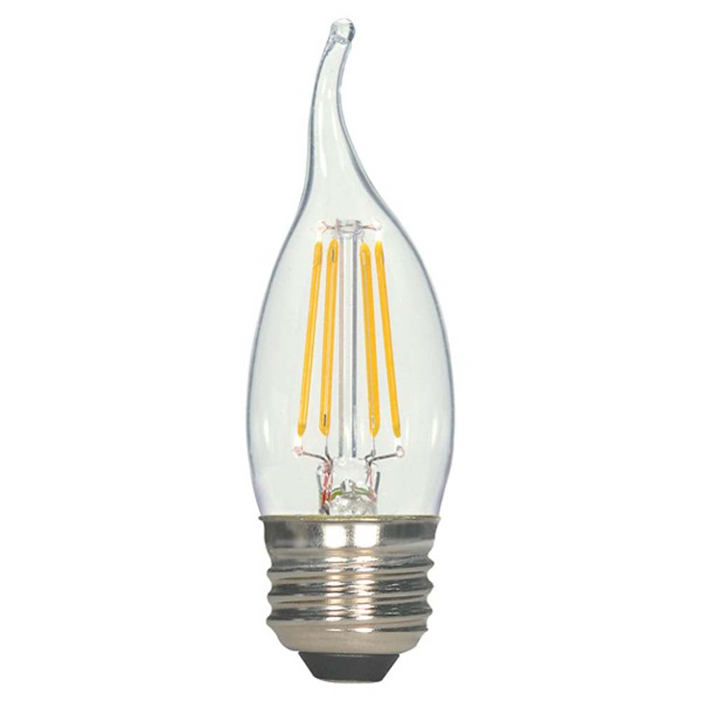 Antique Filament LED 4.5 Watt 2700K CA11 E26 Base Bulb - 40w equiv.