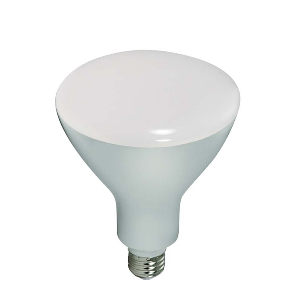 Satco 16.5W BR40 LED 1200Lm 4000K Cool White Dimmable Bulb - 85w Equiv