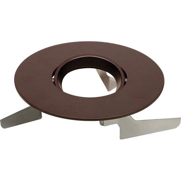 "6"" Round Adjustable Gimbal Trims, Option for 6"" base unit - Bronze finish"