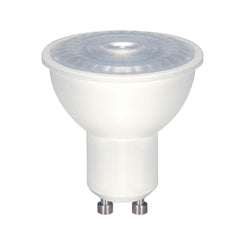 Satco 6.5w LED MR16 LED 5000K 40 deg. beam spread GU10 base 230 volts