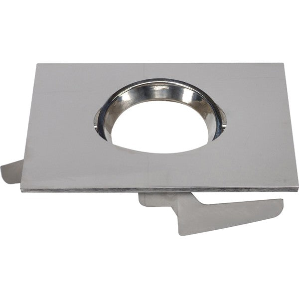 "6"" Square Adjustable Gimbal Trims, Option for 5""/6"" base unit - Polished Nickel"