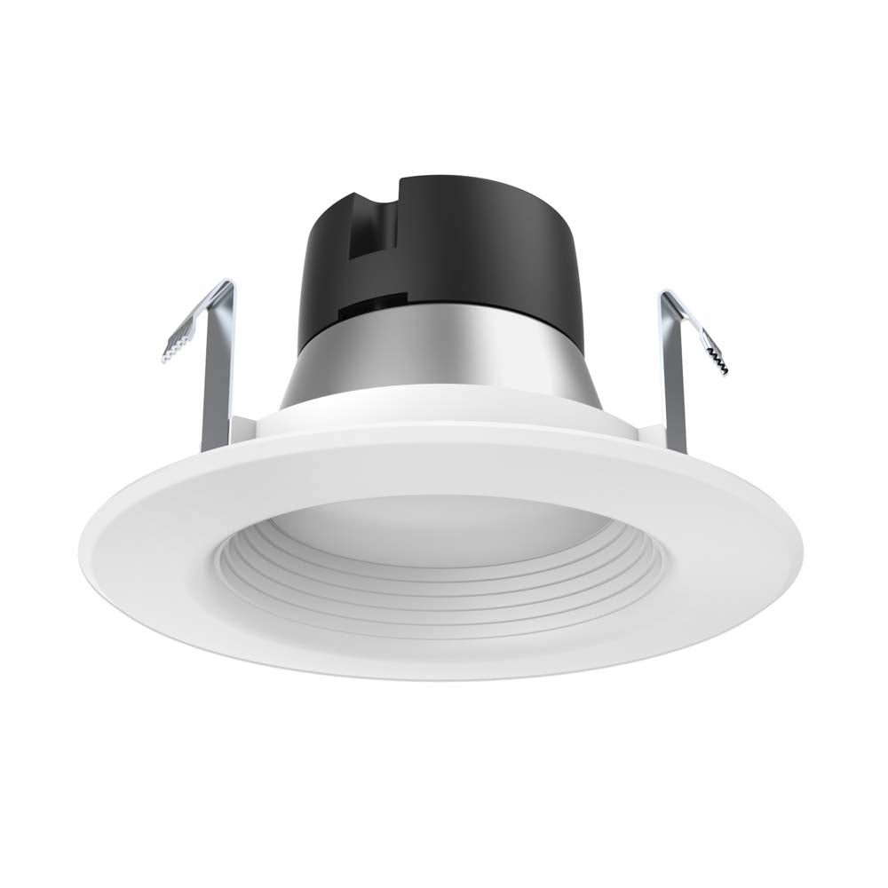 Satco 4in. 7.5w LED Downlight Retrofit Baffle 3000K 12 volts