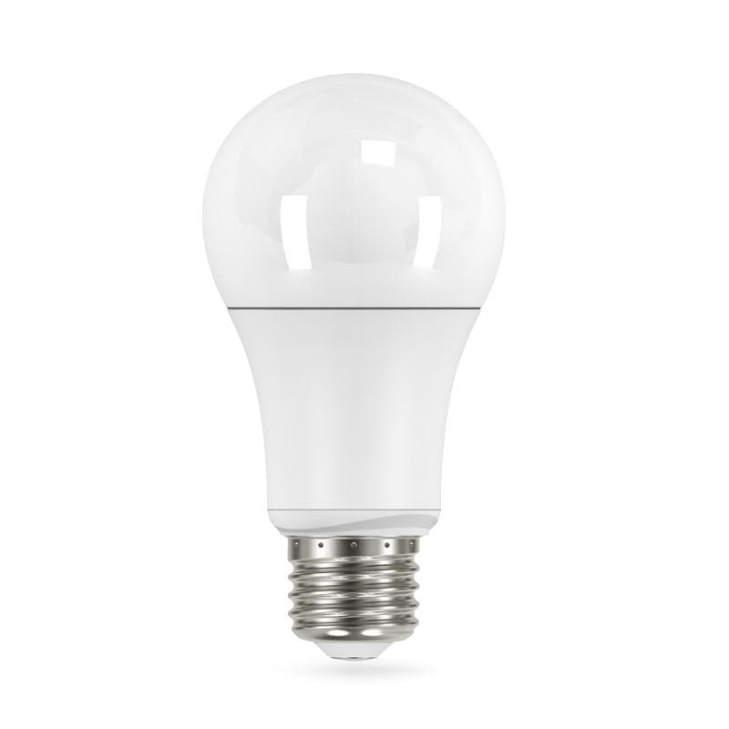 Satco 4pck 11w A19 LED Warm White 2700K E26 base 240 Non-Dimmable - 75w equiv.