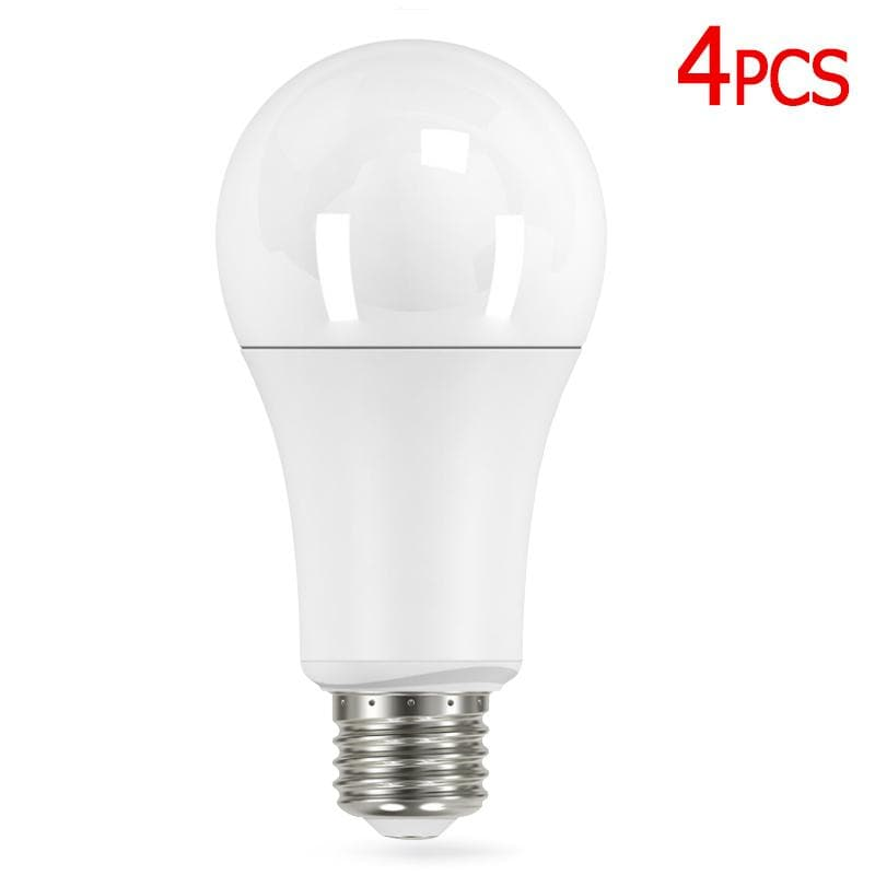 Satco 4pck 15w A21 LED 5000k E26 base 240 Non-Dimmable - 100w equiv.