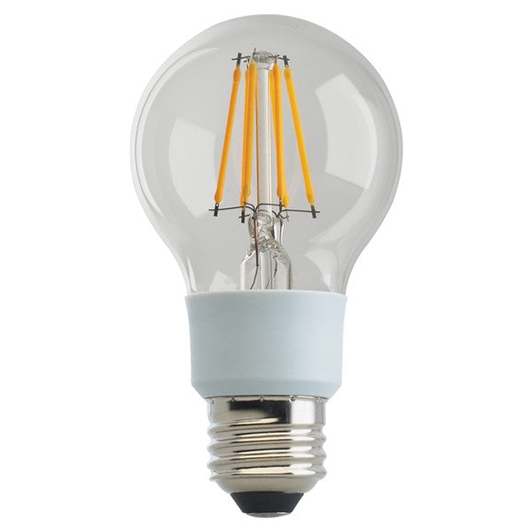 SATCO S29814 11W A19 LED 2700K GU24 Base 220/' Beam Spread 120V Dimmable Frosted