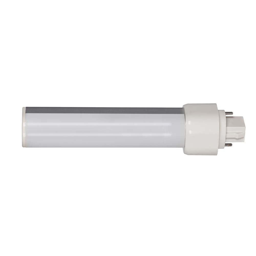 Satco 9W LED PL 2-Pin 3500K 850 Lumens G24d base 120 deg. beam spread