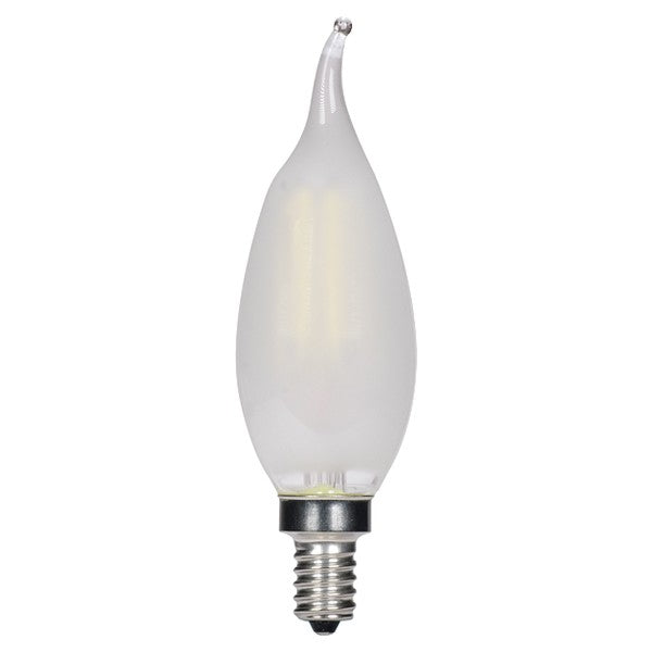 3.5w CA11 LED Frosted E12 Candelabra base 2700K Warm White Dimmable Light Bulb