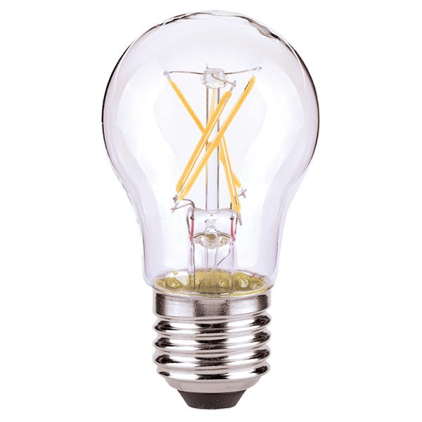 4.5w A15 LED 120v Clear E26 Medium base 2700K Warm White Dimmable Light Bulb