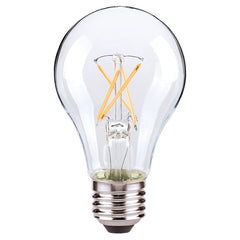 4.5w A19 LED 120v Clear E26 Medium base 2700K Warm White Dimmable Light Bulb