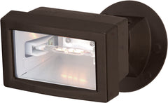 "Nuvo 1-Light 150w T3 5"" Flood Light Exterior - Mini Halogen Double Ended Base"