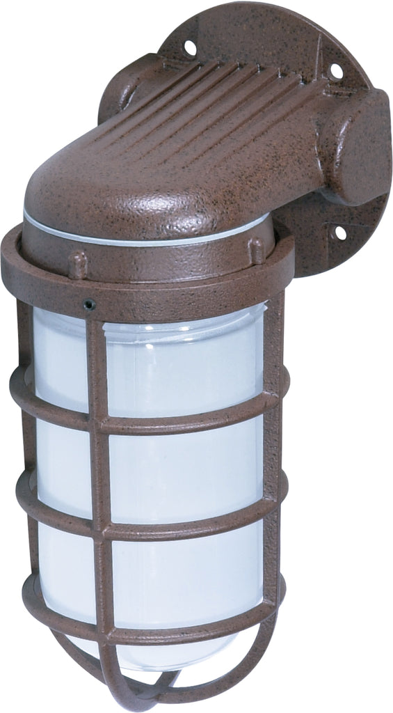"Nuvo 1-Light 150w 10"" Style Wall Mount w/ Frosted Glass in Old Bronze Finish"