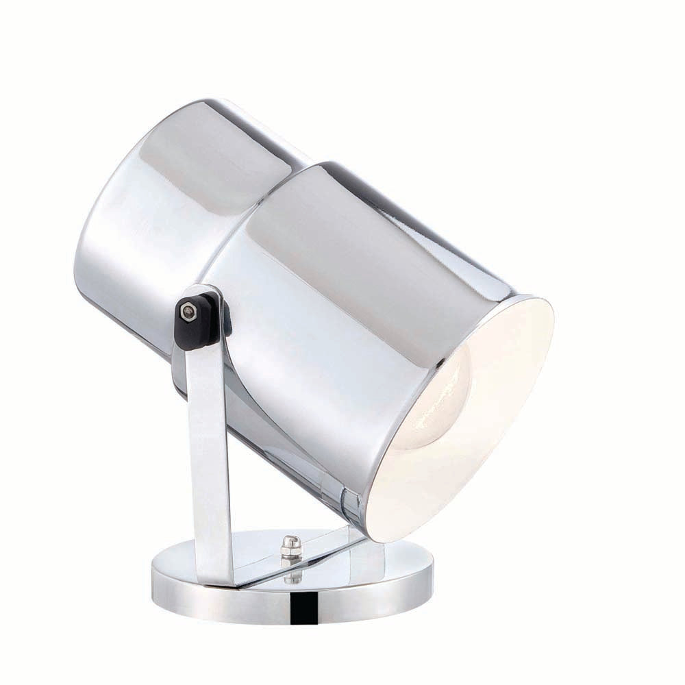 Satco 75w Multi-Purpose Portable Spot Light Polished Chrome Finish