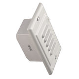 NICOR LED Step Light with Photocell, White_2