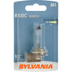 SYLVANIA 881 Basic Fog Automotive Bulb