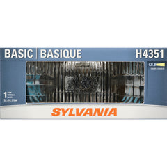 SYLVANIA H4351 Basic Rectangular Halogen Headlight Bulb