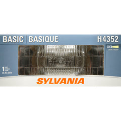 SYLVANIA H4352 Basic Rectangular Halogen Headlight Bulb