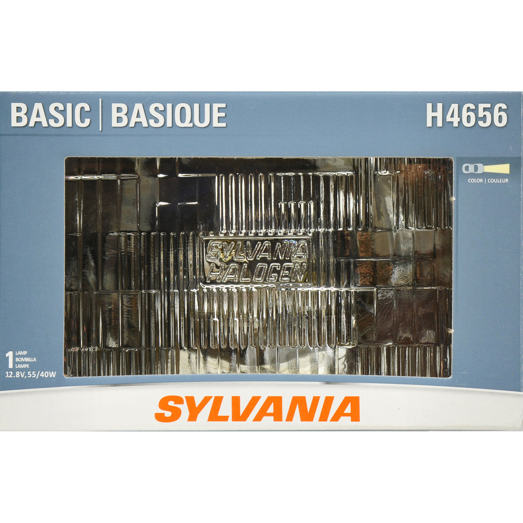 1-PK SYLVANIA H4656 Basic Halogen Headlight 100x165