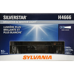 SYLVANIA H4666 SilverStar High Performance Halogen Headlight 100x165