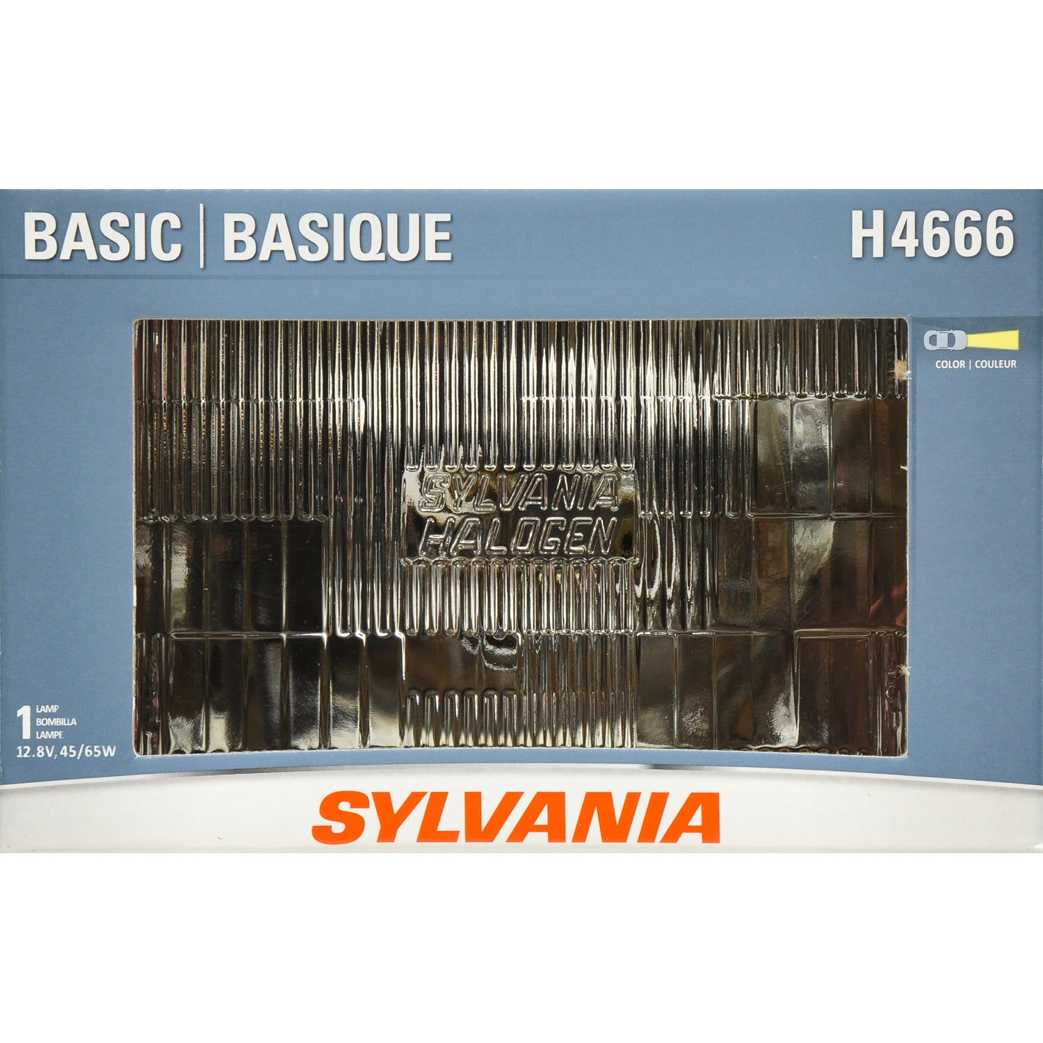 SYLVANIA H4666 2E1 Headlight 100x165 Automotive Bulb