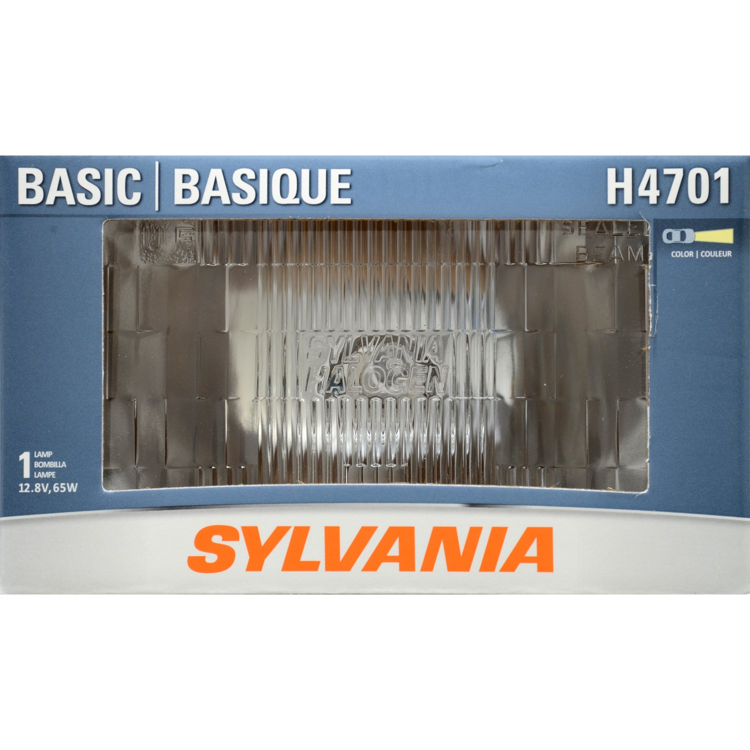 SYLVANIA H4701 UF Halogen Headlight 92x150 Automotive Bulb
