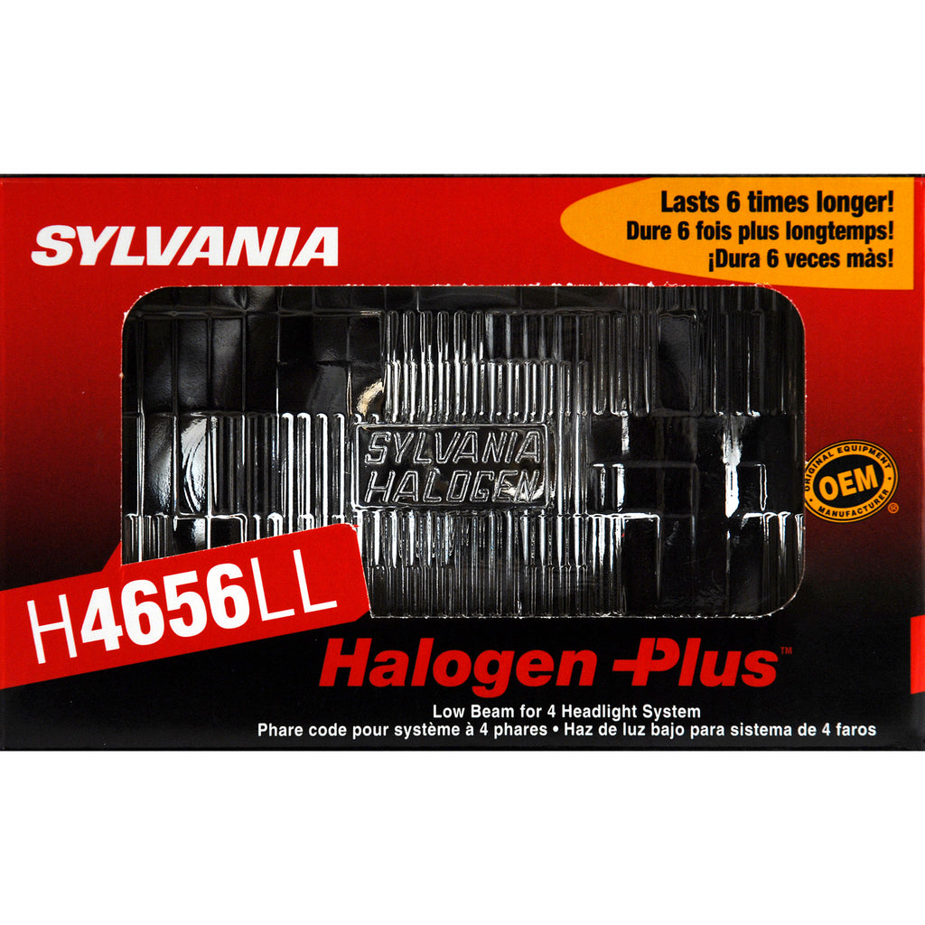 1-PK SYLVANIA H4656 Long Life Halogen Headlight 100x165