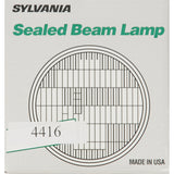 "SYLVANIA 4416 Sealed Beam Headlight (4.5"" Round) PAR36"
