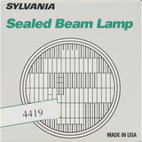 "SYLVANIA 4419 Sealed Beam Headlight (5.7"" Round) PAR46"