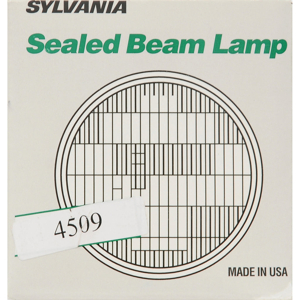 "SYLVANIA 4509 Sealed Beam Headlight (4.5"" Round) PAR36"