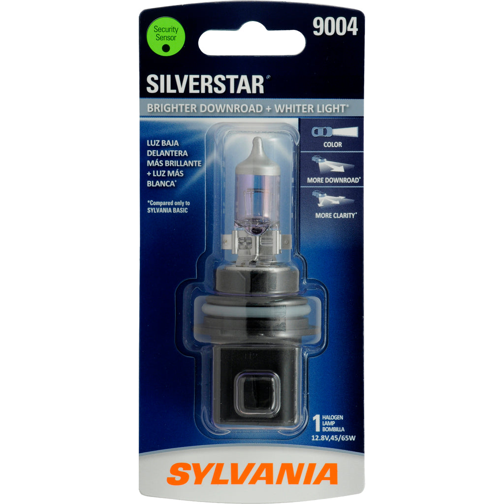 1-PK SYLVANIA 9004 SilverStar High Performance Halogen Headlight Bulb