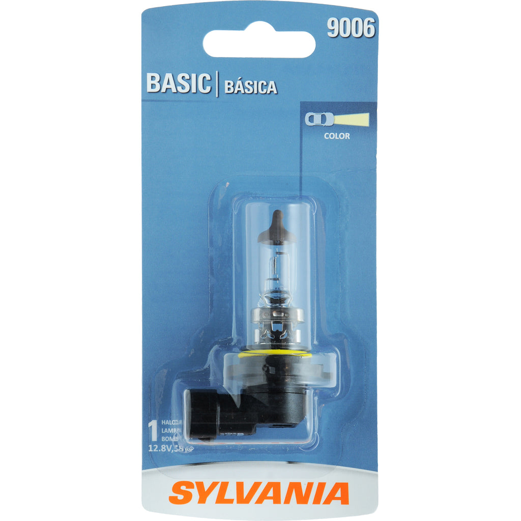 1-PK SYLVANIA 9006 Basic Halogen Headlight Bulb