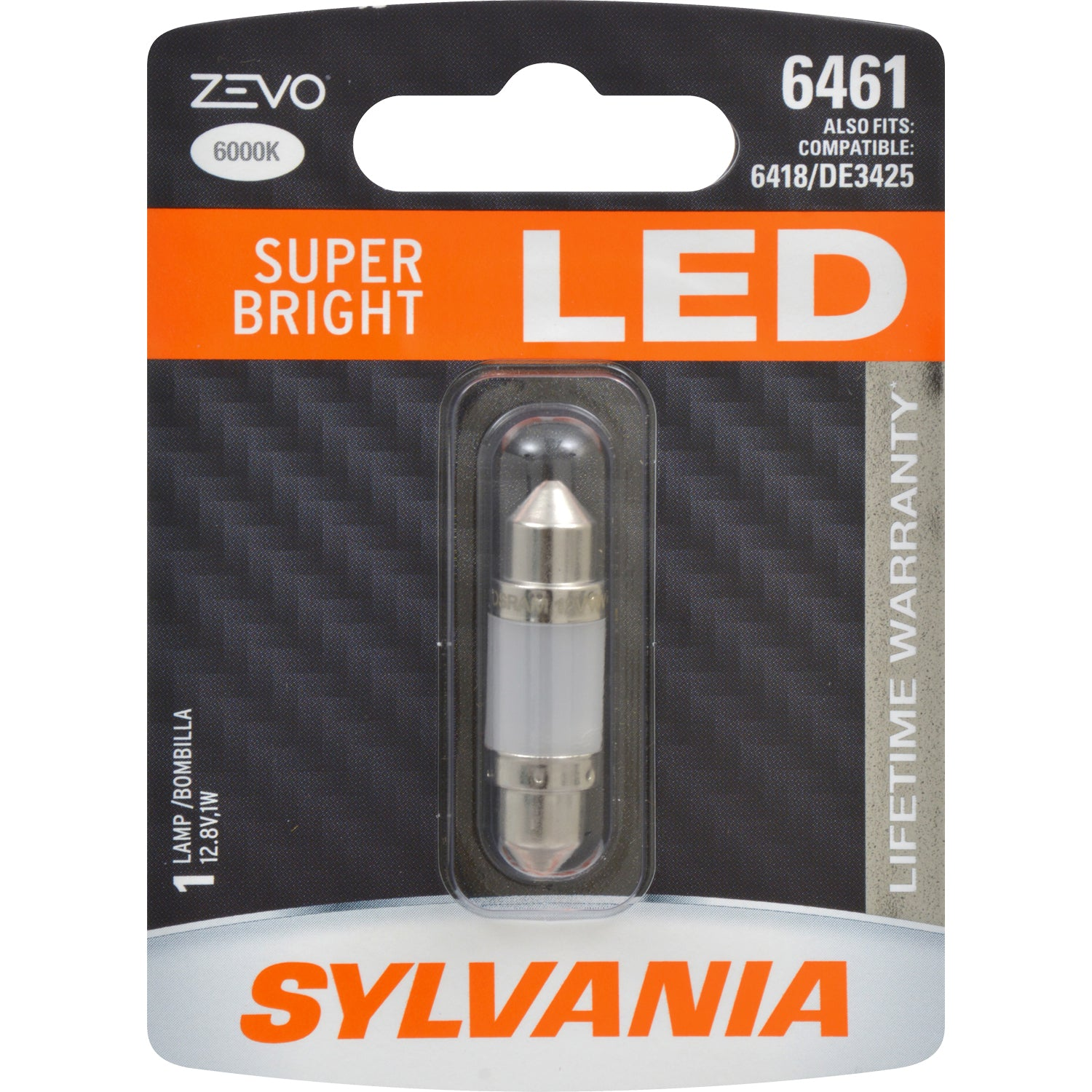 SYLVANIA ZEVO 6461 36mm Festoon White LED Bulb
