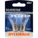 2-PK SYLVANIA 2057 SilverStar High Performance Automotive Light Bulb