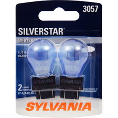 2-PK SYLVANIA 3057 SilverStar High Performance Automotive Light Bulb