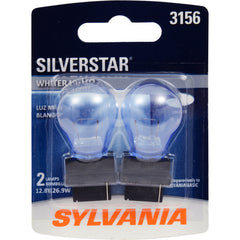 2-PK SYLVANIA 3156 SilverStar High Performance Automotive Light Bulb