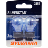 2-PK SYLVANIA 3157 SilverStar High Performance Automotive Light Bulb