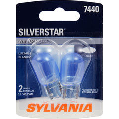 2-PK SYLVANIA 7440 SilverStar High Performance Automotive Light Bulb