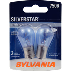 2-PK SYLVANIA 7506 SilverStar High Performance Automotive Light Bulb
