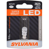 SYLVANIA ZEVO 2825 T10 W5W White LED Automotive Bulb