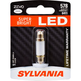 SYLVANIA ZEVO 578 41mm Festoon White LED Bulb