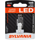 SYLVANIA ZEVO 194 T10 W5W Red LED Automotive Bulb