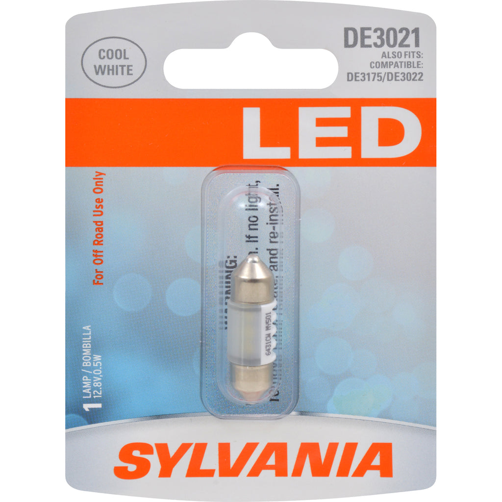 SYLVANIA DE3021 31mm Festoon White LED Automotive Bulb
