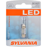 1-PK SYLVANIA DE3021 31mm Festoon White LED Bulb