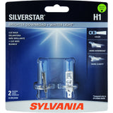 2-PK SYLVANIA H1 SilverStar High Performance Halogen Headlight Bulb