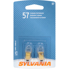 2-PK SYLVANIA 57 Basic Automotive Light Bulb